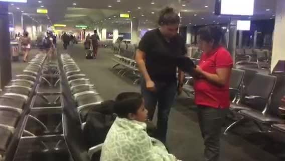 Darwin, 7, is reunited with his mother Beata Mariana de Jesus Mejia-Mejia after being separated under Trump's zero-tolerance policy. Video courtesy of Mike Donovan