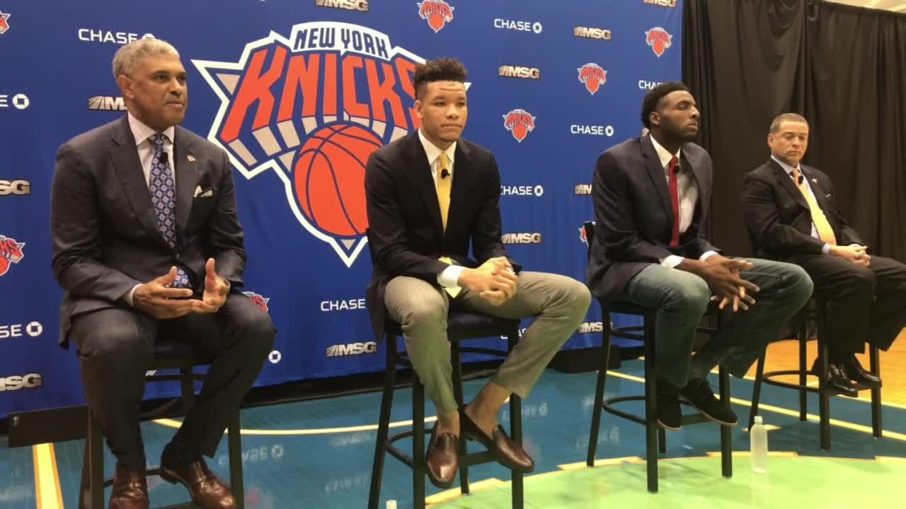 Kevin Knox And Mitchell Robinson are the new Knicks first-round NBA Draft picks
