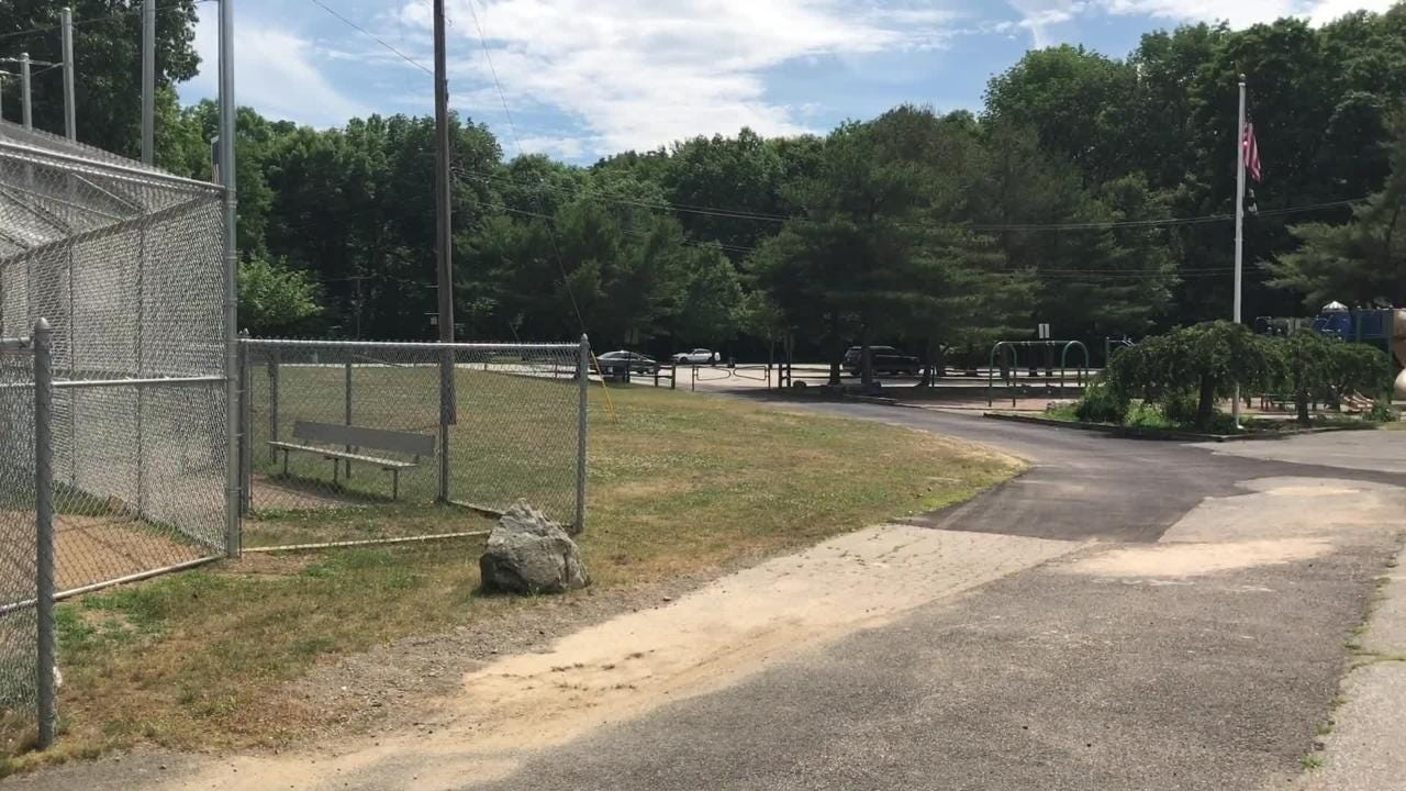 Wanaque Councilman Thomas Balunis discusses upgrades planned for Back Beach Park.