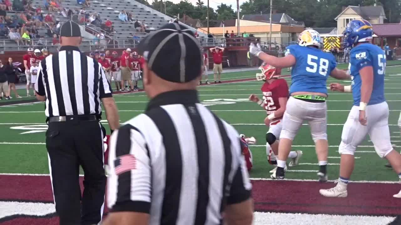 Muskingum Valley scored 21 first-quarter points in a 28-13 victory against Licking County.