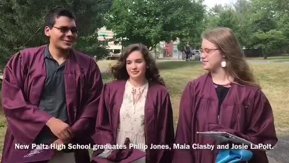 New Paltz High School held its 2018 graduation on June 22.