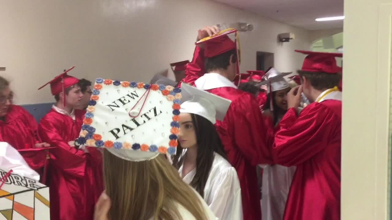 Sights and sounds from Red Hook High School's graduation ceremony on Saturday.