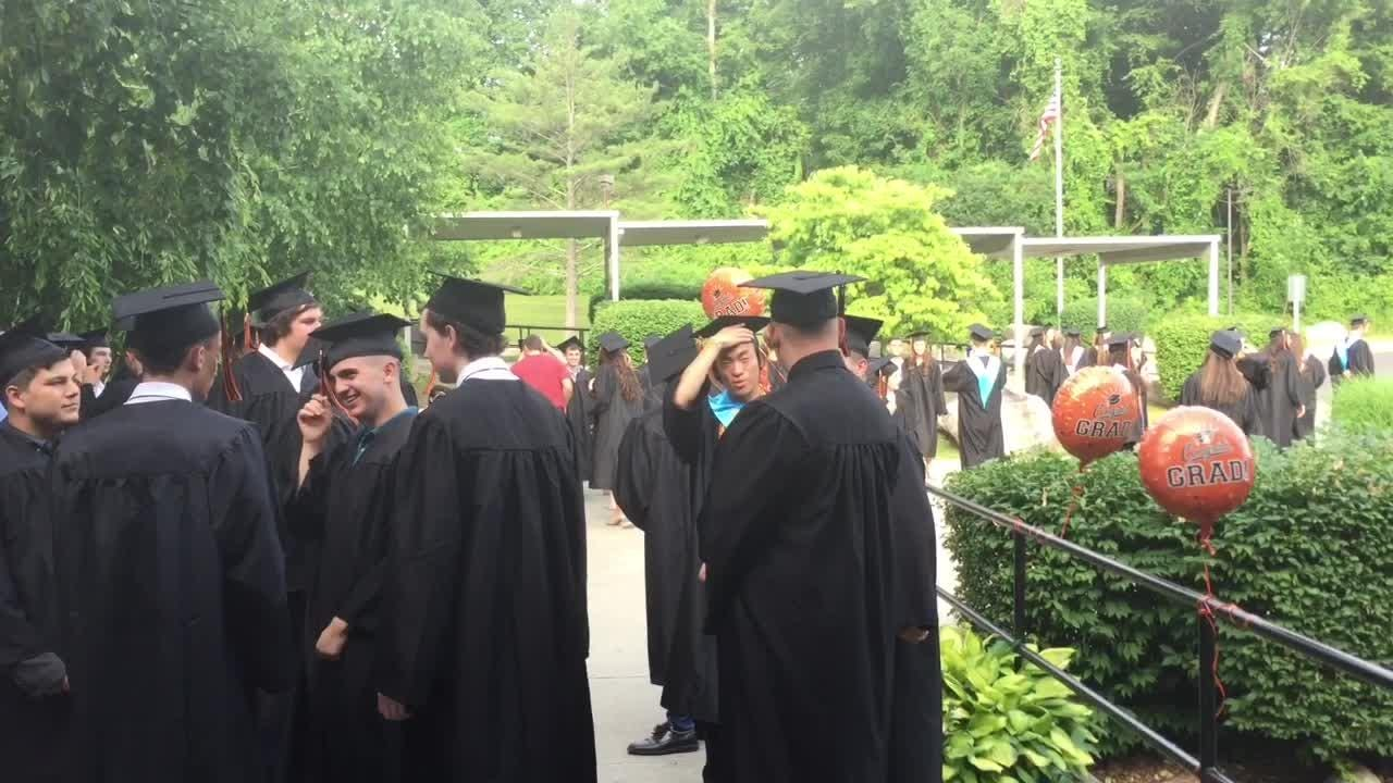 Sights and sounds from Pawling High School's graduation ceremony on Friday.