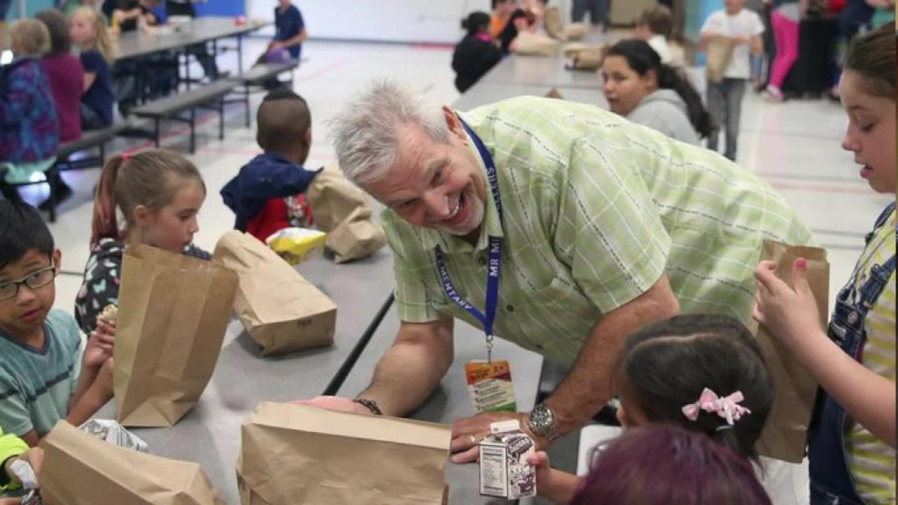 Principal Mike Sellers, retiring after 43 years in education, talks about the Feb. 22, 2012, shooting of Amina Kocer Bowman at Armin Jahr Elementary School. Amina was critically injured when a gun in a classmate's backpack discharged.