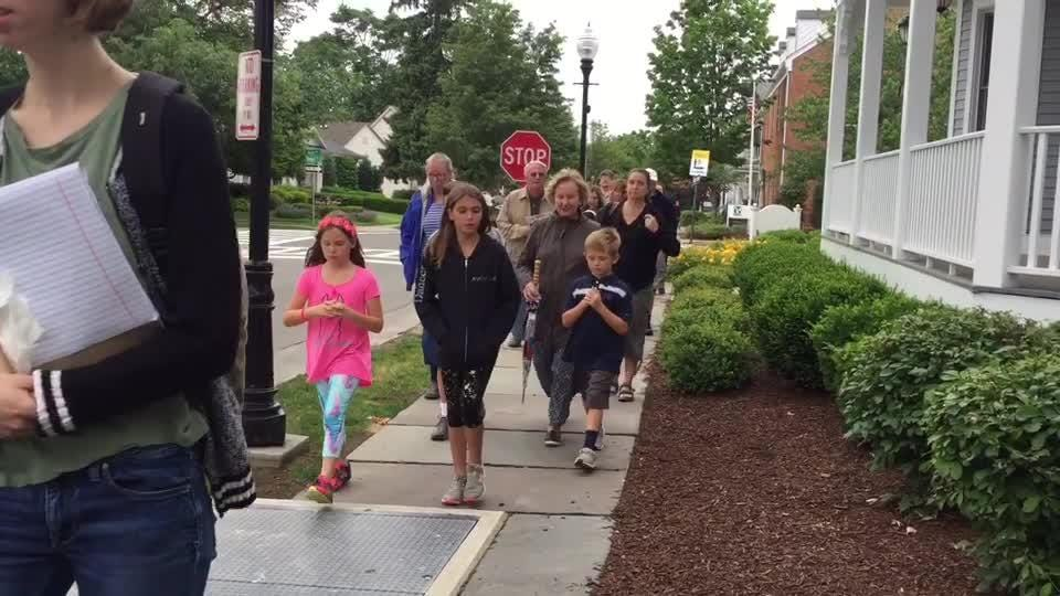 Morris County Tourism Bureau hosted The Seeing Eye Walking Tour