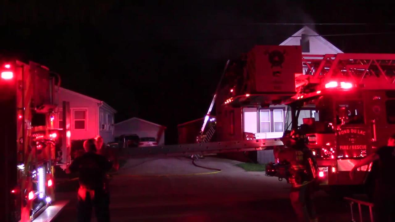 An overnight fire in Fond du Lac was quickly extinguished by Fond du Lac Fire/Rescue.