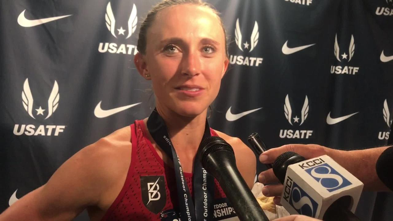 Shelby Houlihan wins second race at USA Track and Field Championships