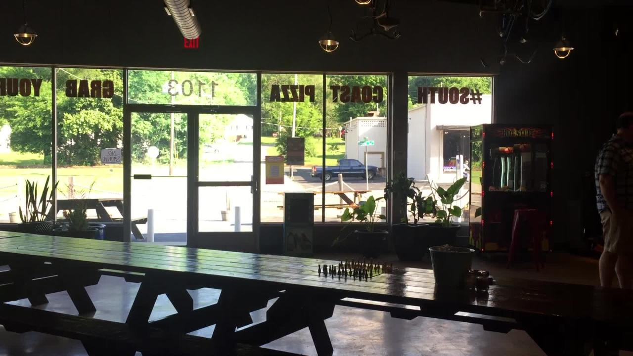 South Coast Pizza opened recently on Sevier Avenue.