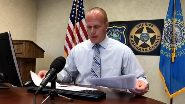 Sgt. Shaun Olson provides an update on the weekend criminal activity during the daily briefing.