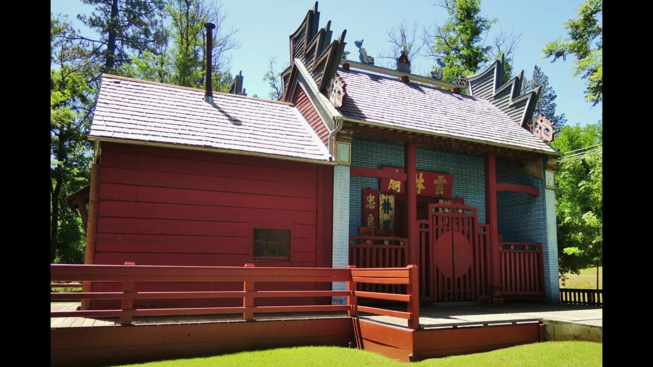 See photos of the beautiful Weaverville Joss House State Historic Park.