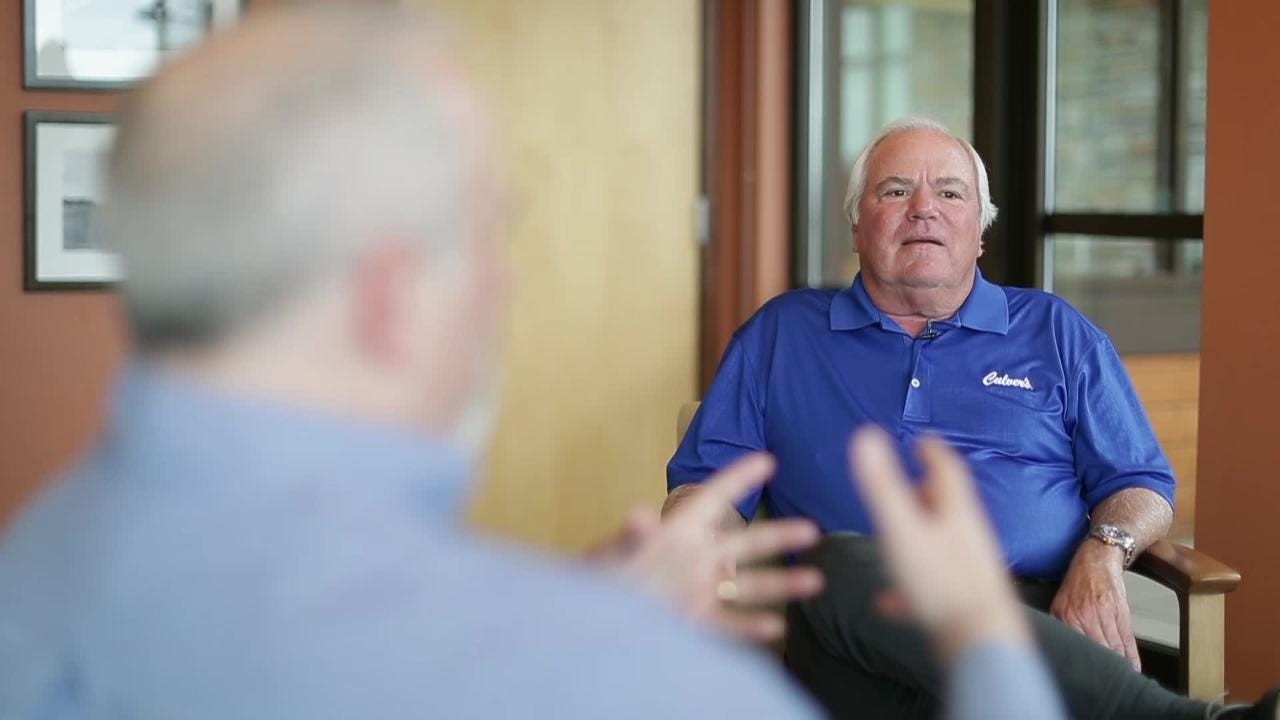 Dan Higgins, with USA TODAY NETWORK-Wisconsin, has a sit-down conversation with Culver's co-founder Craig Culver.