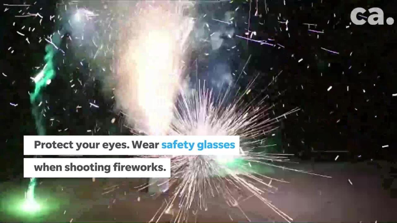How to stay safe during Independence Day celebrations.