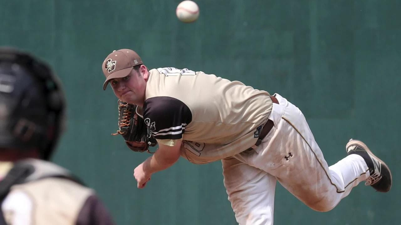 Clarkstown South's Kieran Finnegan is the Rockland baseball player of the year