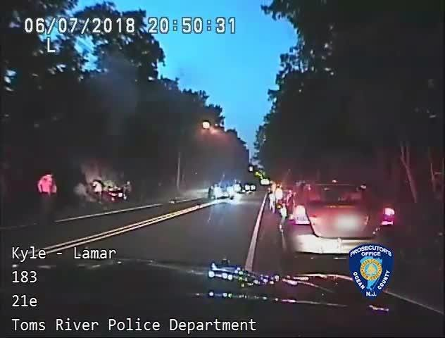 Video shows fiery, fatal crash