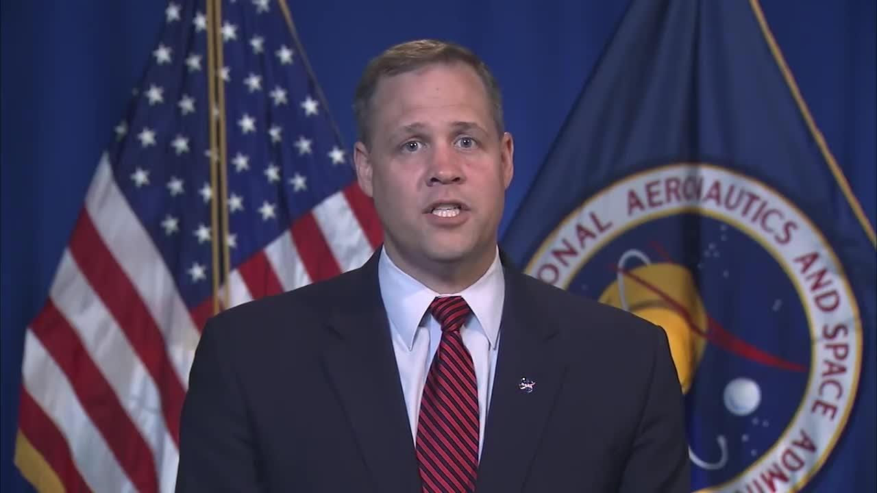 NASA Administrator Jim Bridenstine speaks on James Webb Space Telescope and the launch delay to 2021.