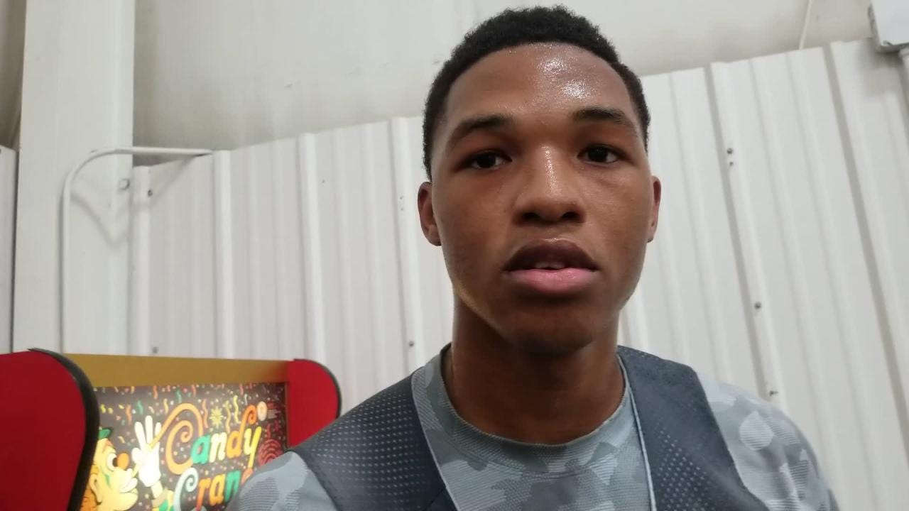 Parkview High School's Tyem Freeman talks about his commitment to Missouri State.