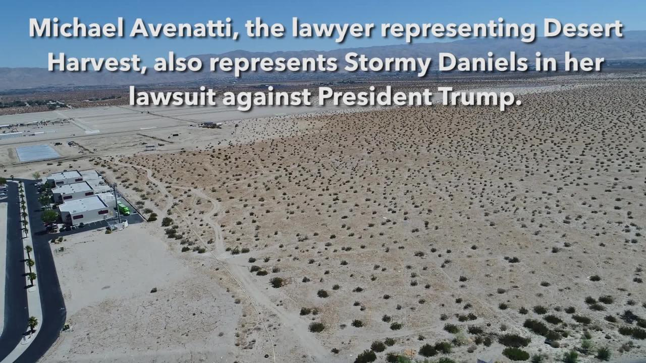 Stormy Daniels lawyer also represents a large-scale Desert Hot Springs  marijuana business