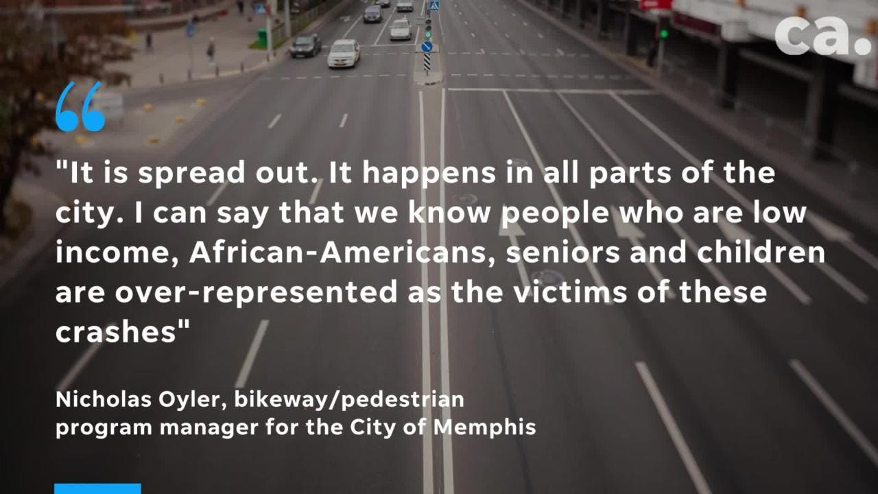 Nationwide, pedestrian deaths have increased 46 percent since reaching their lowest point in 2009, according to data in a new study from the National Highway Traffic Safety Administration.
