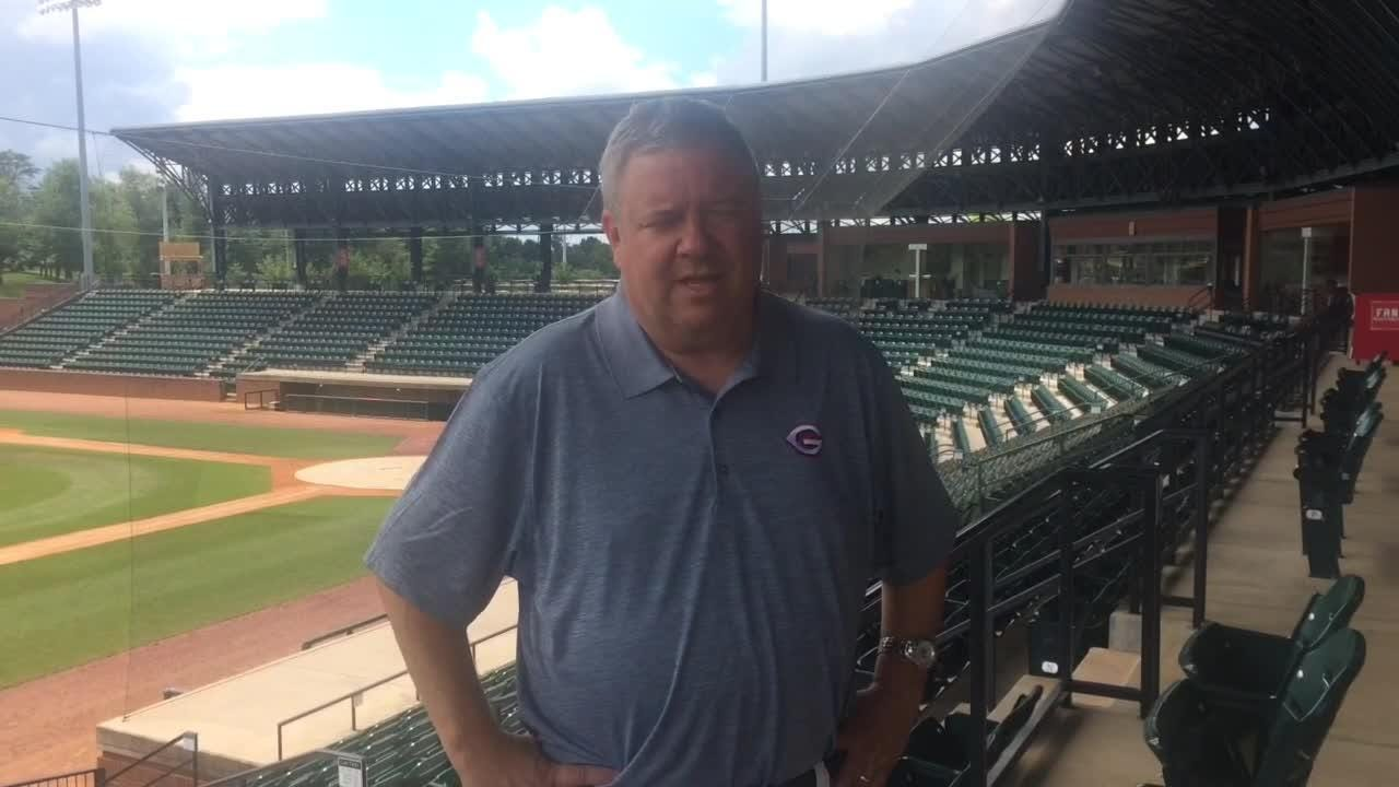 Brian Cox's move from the Tennessee Smokies to the Greeneville Reds has been made easier by Tusculum University's facilities