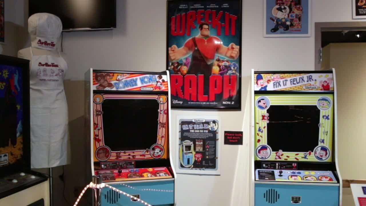 Sheboygan County Historical Museum is featuring through October an exhibit on vintage arcade games.