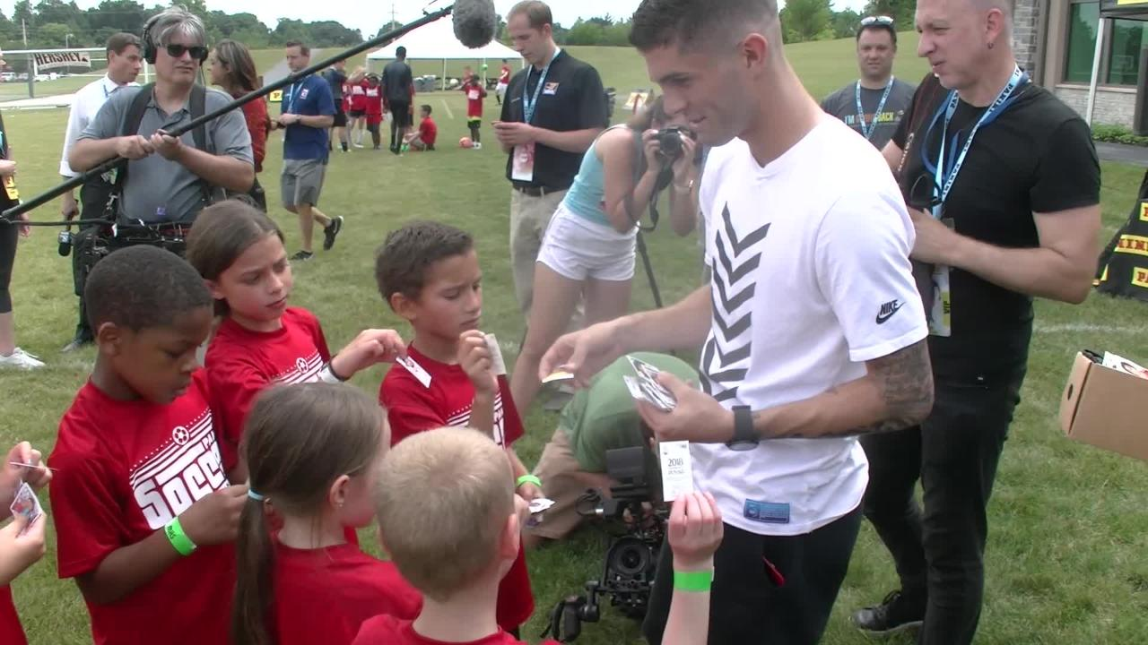Soccer star Christian Pulisic 'like a normal 19-year-old'