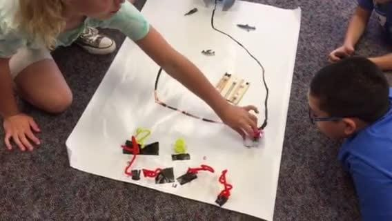 Self-driving robots captivate Lebanon kids at Camp Invention
