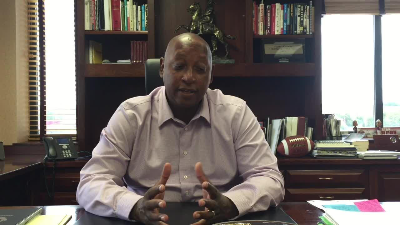 FSU Vice President and Director of Athletics Stan Wilcox discusses the latest on the football-only facility.