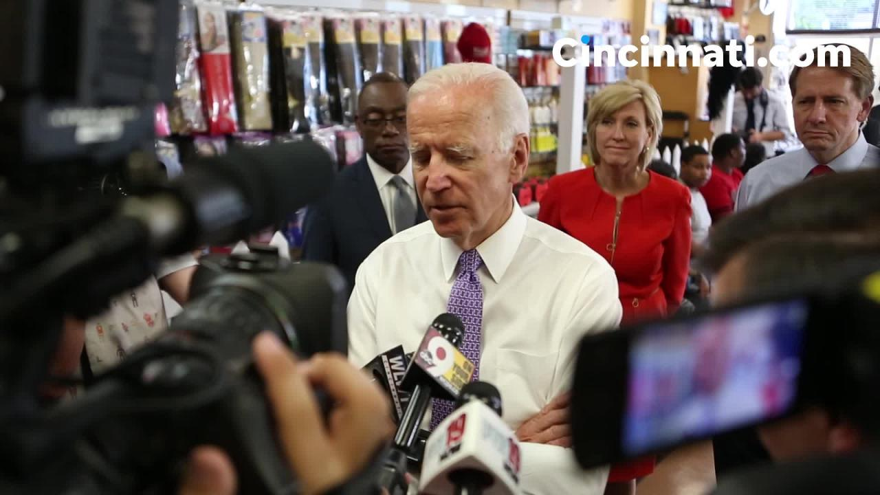 "Joe Biden: ""This is a battle for the soul of America"""