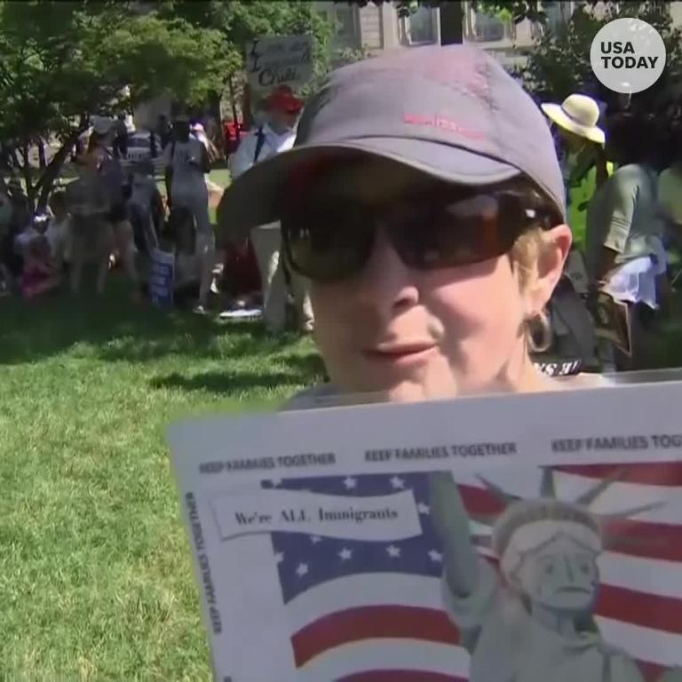 Anti-immigration protestor: 'This is not our country'