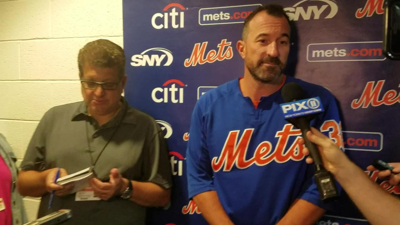 Mets manager Mickey Callaway on Jose Bautista's play