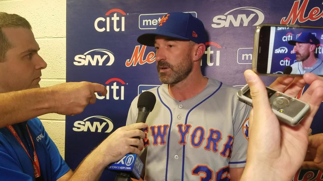Mets manager Mickey Callaway on Mets having worst winning percentage in NL