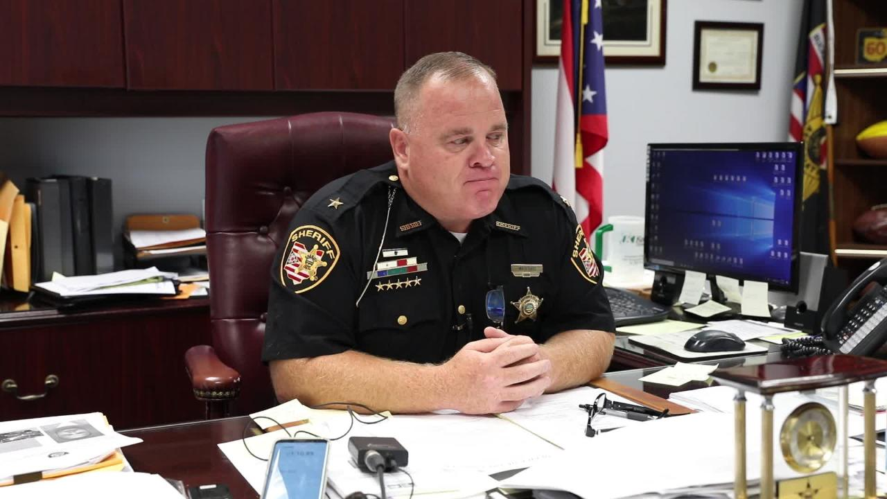 Muskingum County Sheriff Matt Lutz on the death of Muskingum County Engineer Doug Davis.