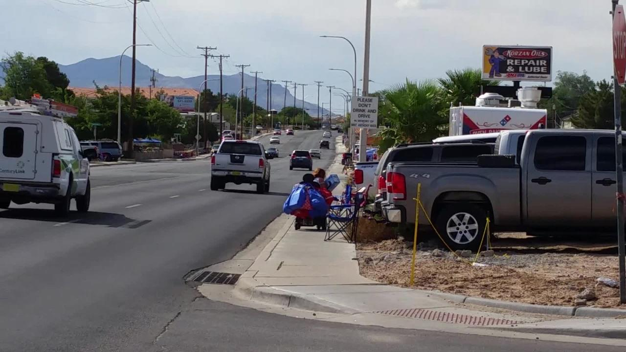 A woman who uses a wheelchair said chairs set up in advance of Fourth parade caused trouble for her Tuesday, July 3 in Las Cruces.