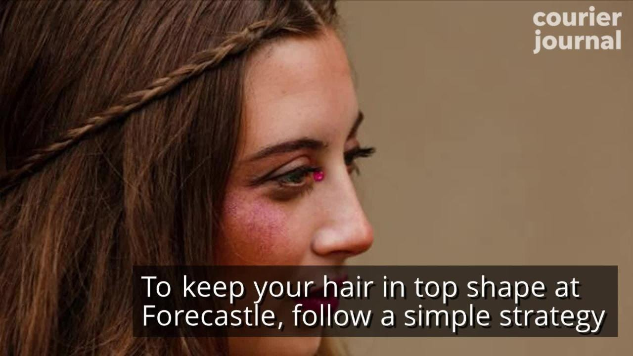 Getting your look together for Forecastle? Here are a few ways to survive the heat and look great doing it.