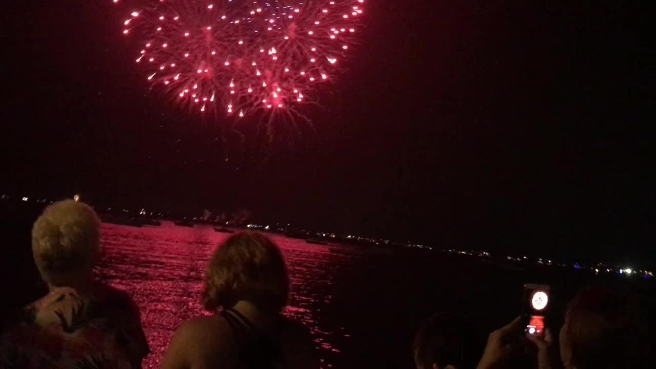 VIDEO: Perth Amboy celebrates Fourth of July with new boat parade, fireworks