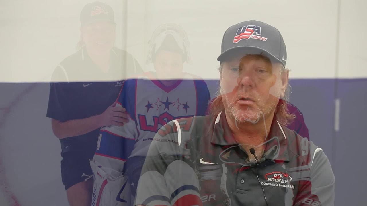 Usa Hockey Goalie Coach Larry Gibson On Usa Women S Sled Hockey