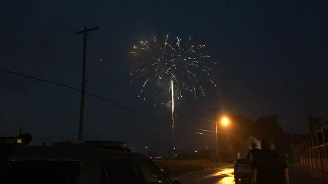 Watch the 4th of July fireworks in York