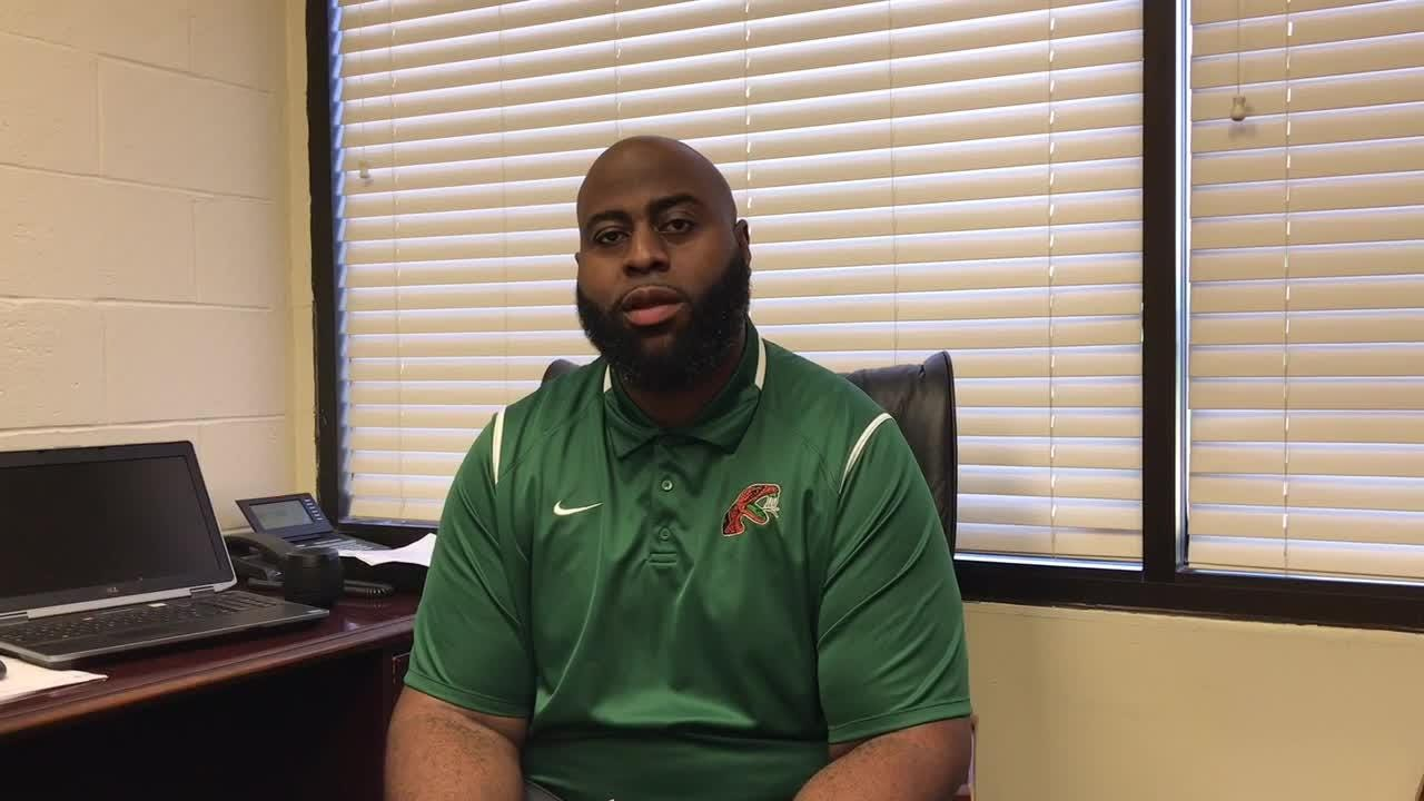 Quincy's Alex Jackson talks about returning to the Big Bend and being offensive coordinator at FAMU