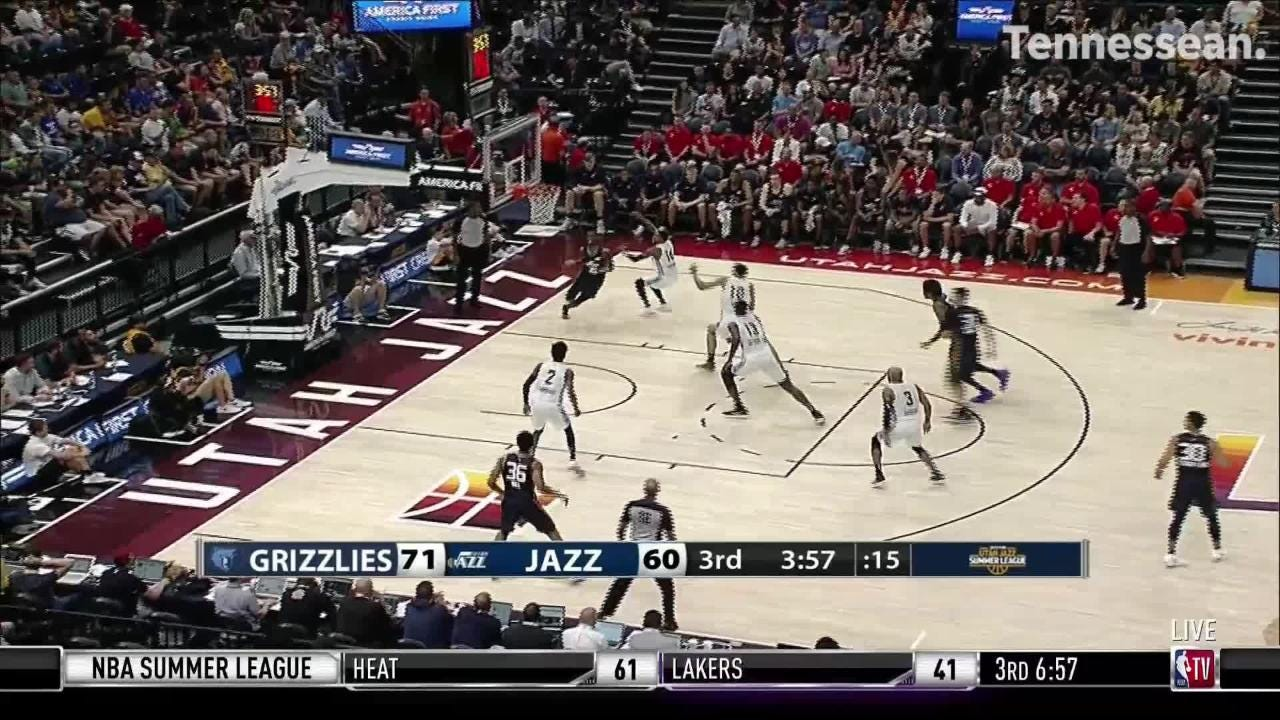 Jaren Jackson Jr. has already showcased a lot of skill early in the Utah Summer League.