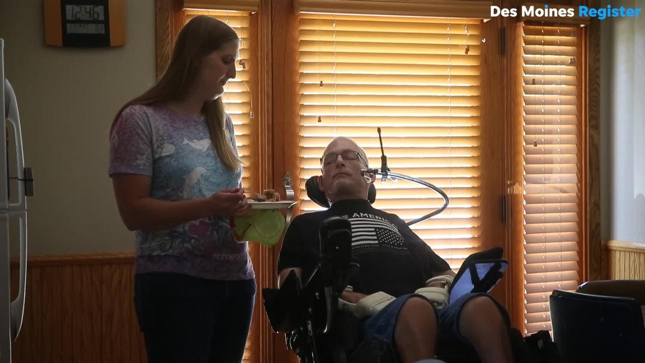 Paralyzed patient: 'If I can't get the help, who's getting it?'