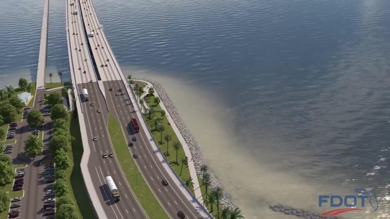 Take a virtual tour on the new Pensacola Bay Bridge