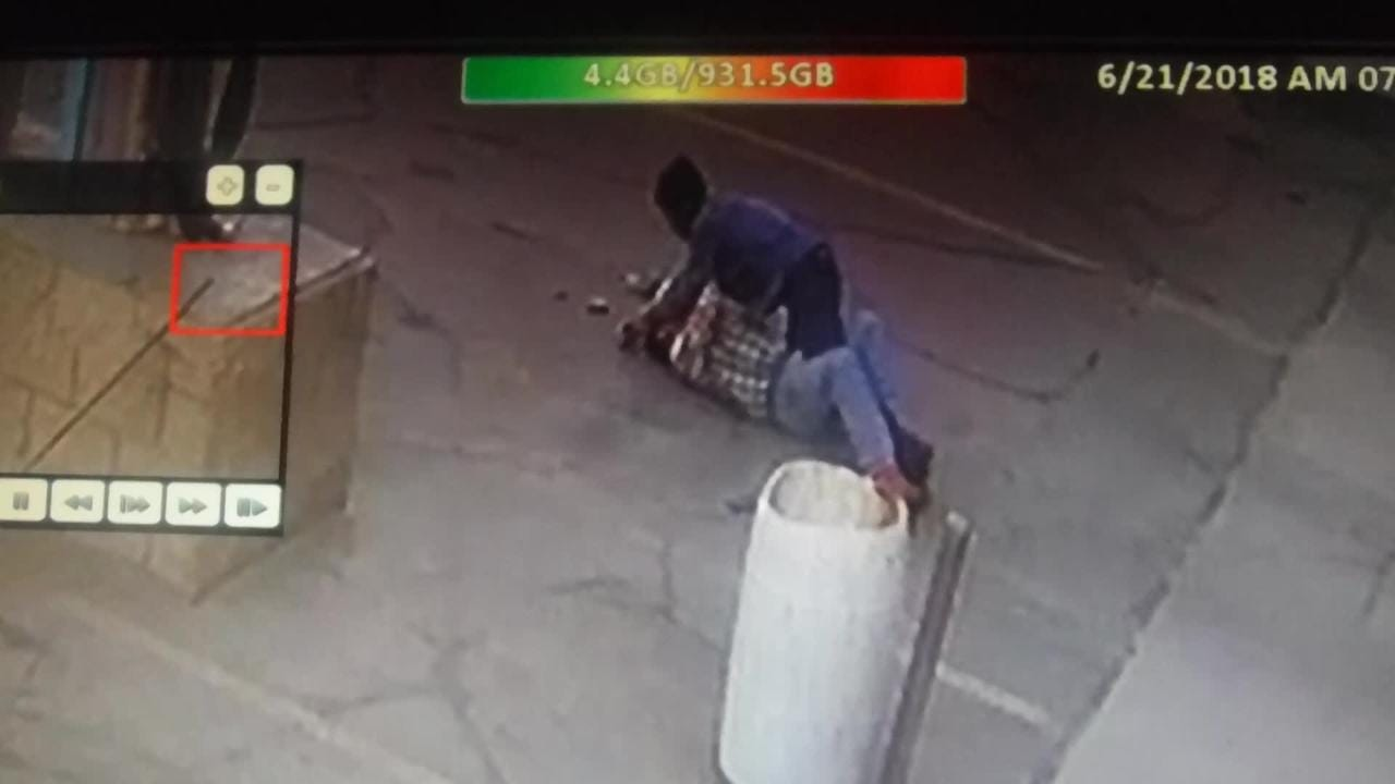 Police are searching for suspect who assaulted an elderly car wash employee after he woke up the suspect sleeping in one of the car wash bay.