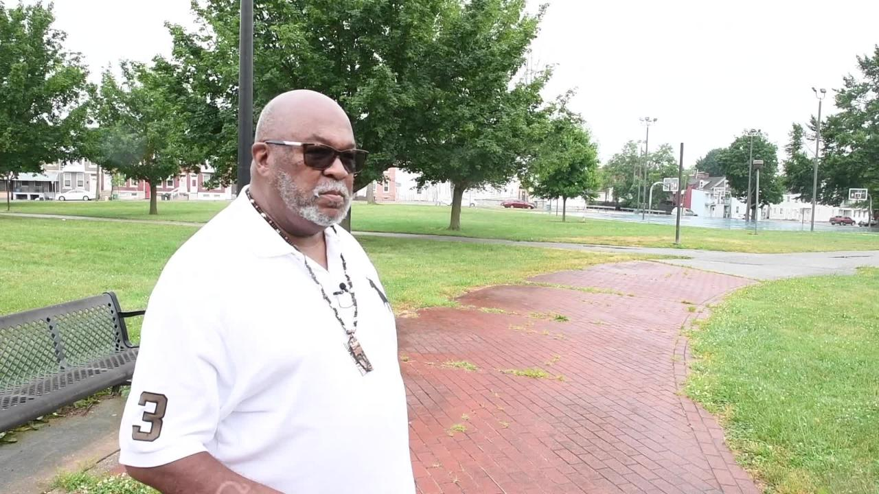 Jeff Kirkland, who has done extensive research on the black community's history in York, speaks about Penn Park.