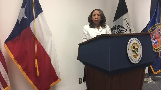 Deputy City Manager Dionne Mack spoke about the viral video that showed an El Paso Police officer pulling a gun on a group of boys.