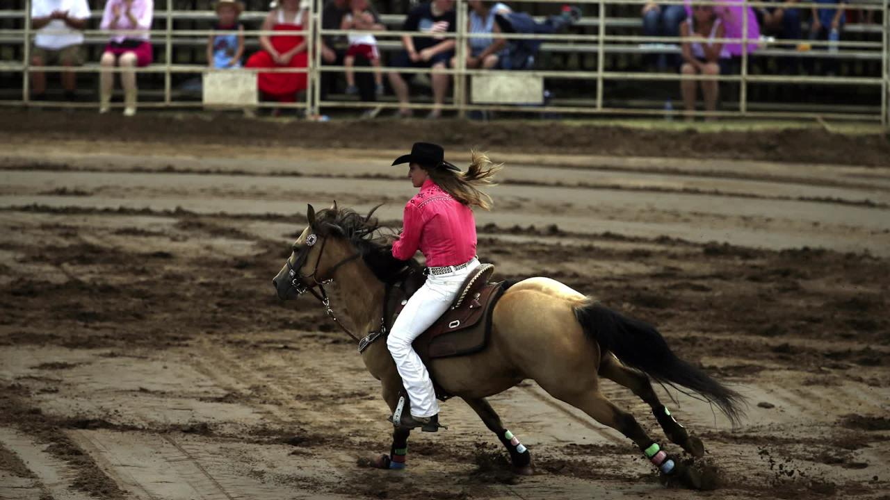 Jacklyn Estreen is a horse trainer. The teenager will graduate this winter and look to further her equine education while training horses and riders.