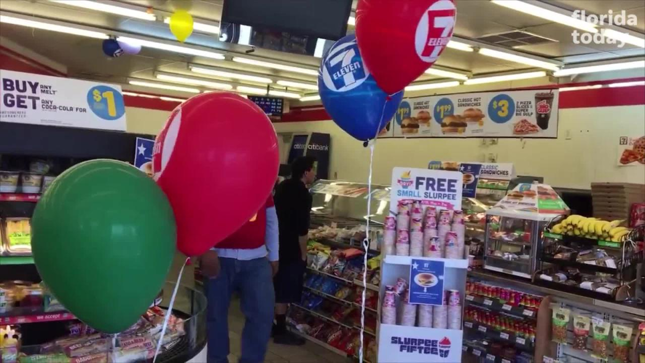 Celebrate 7-Eleven's 91st anniversary. Get your free small Slurpee at 7-Eleven on July 11th from 11 a.m. to 7 p.m.