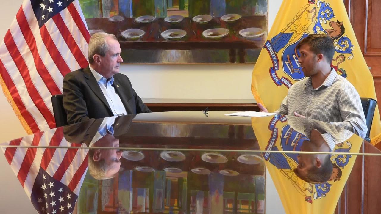 Gov. Phil Murphy discusses the popularity of soccer in New Jersey and the future of U.S. soccer with NorthJersey.com reporter Nicholas Pugliese.