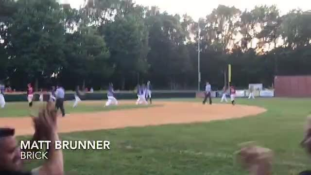 The single brought in the game winning run.