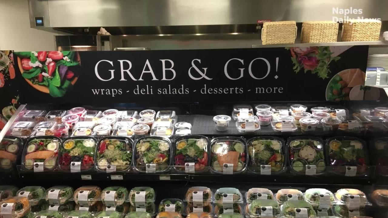 Restaurants and markets in Naples, Marco Island, Fort Myers and Cape Coral offer the healthy, build-your-own salad bars.