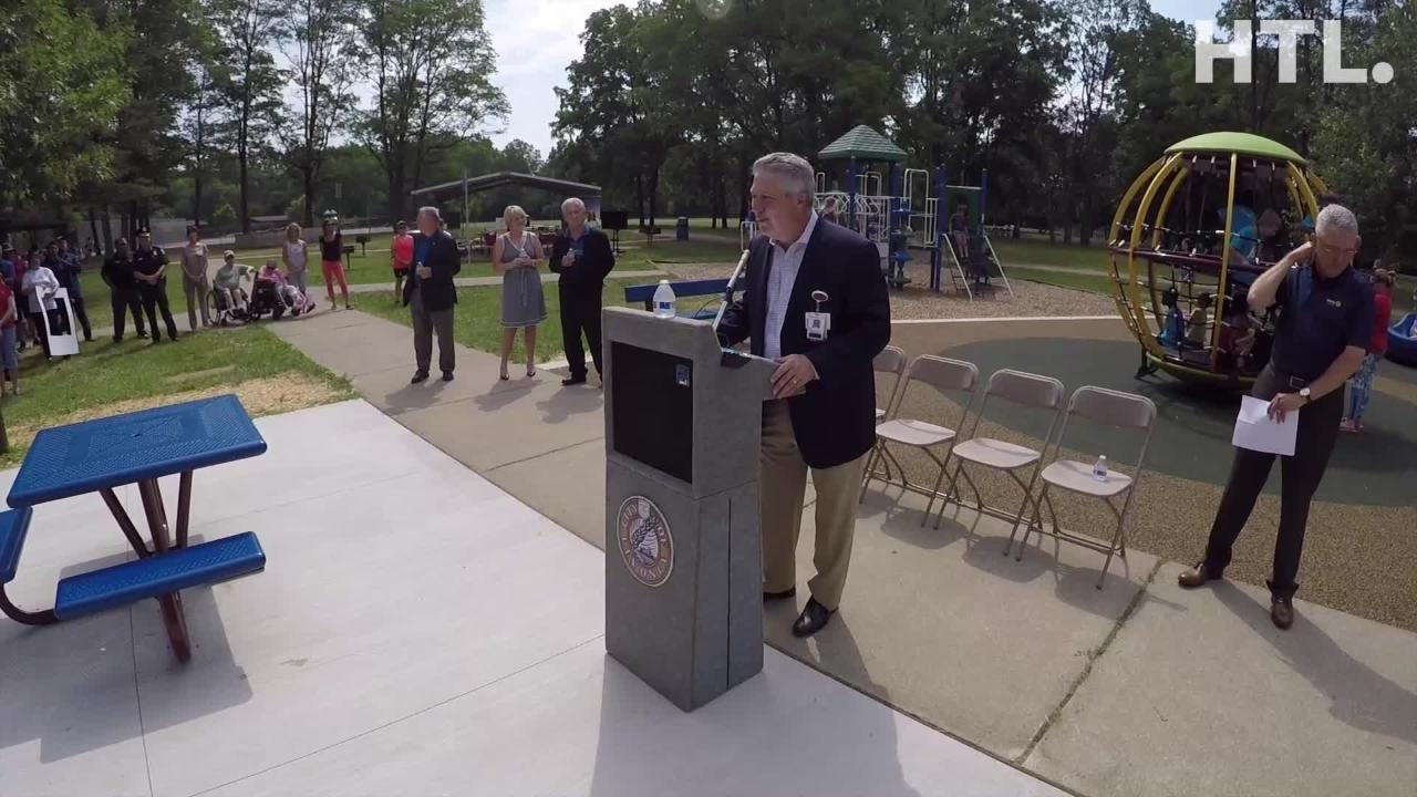 After six years in the making, a new, universally-accessible playscape was constructed at Livonia's Rotary Park.